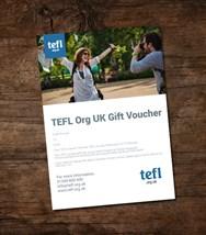 TEFL Org gift voucher