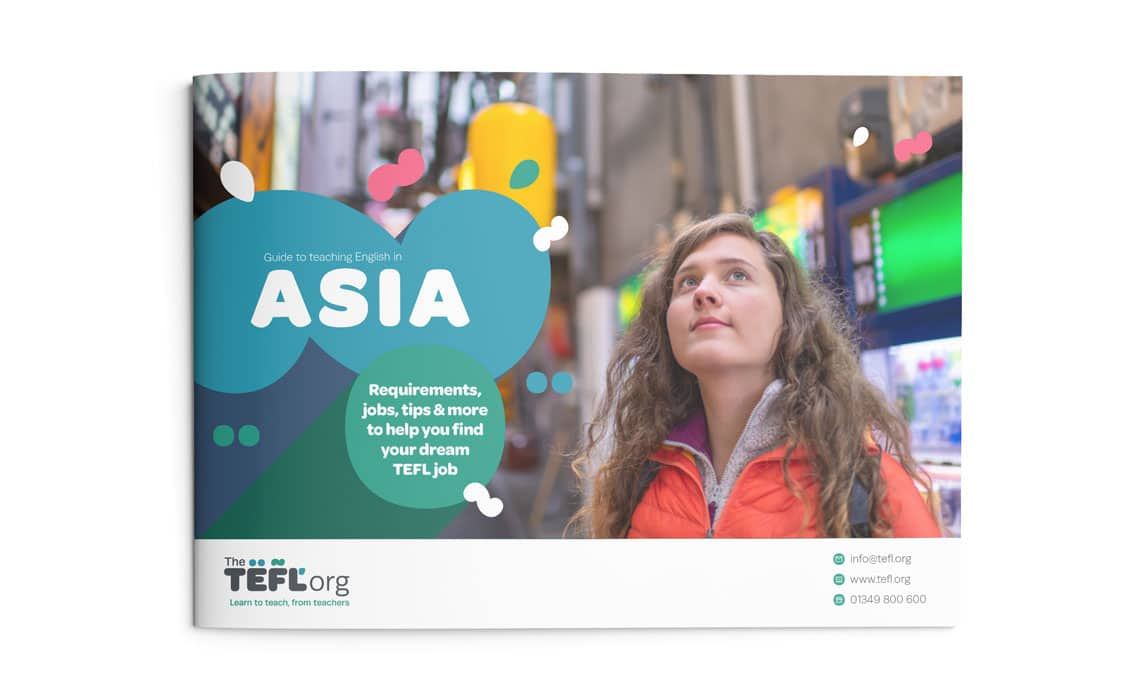 The TEFL Org Asia Guide front cover