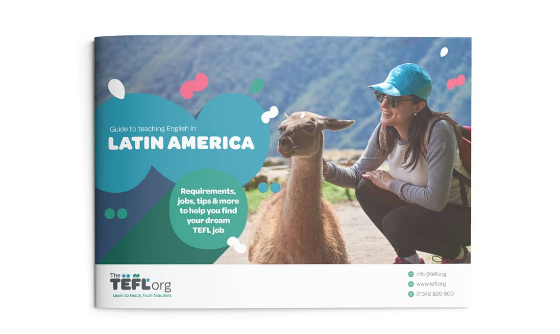 The TEFL Org Latin America Guide front cover