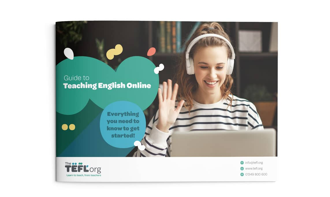 The TEFL Org Online Guide front cover