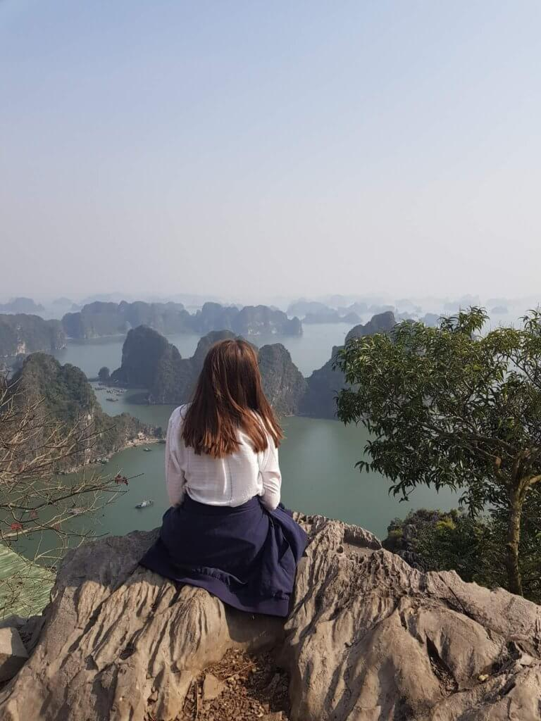Bai Tho mountain in Ha Long city