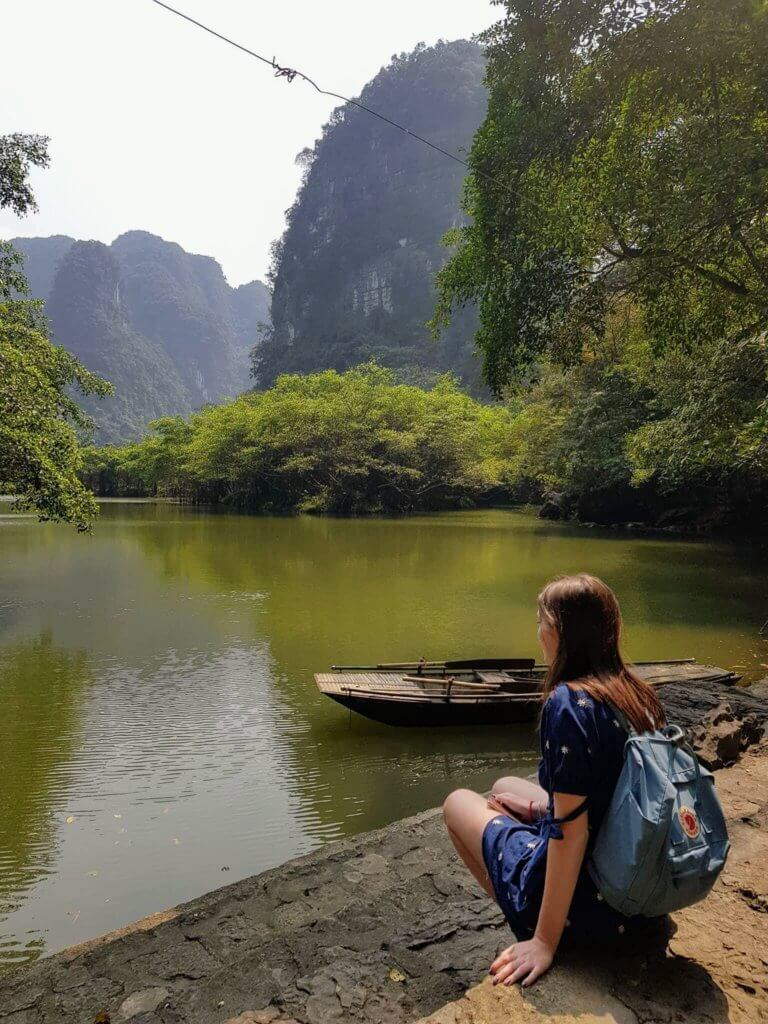 Tyler in Ninh Binh