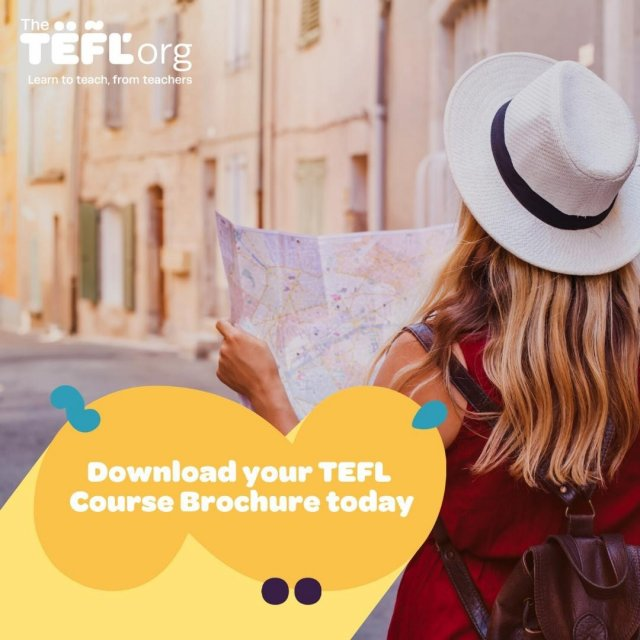 Interested in teaching English in 2021? Everything you need to know about teaching English as a foreign language can be found in our TEFL brochure 👇  You will find detailed information about all our course options to help you choose the right one for you!  Grab your FREE TEFL brochure today - Link in bio 🔗