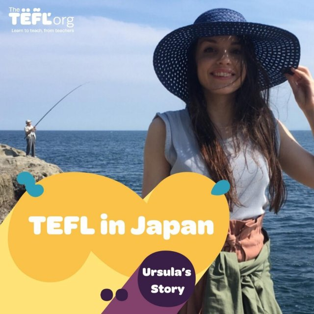 "The TEFL Org graduate, Ursula, studied the 120-hour TEFL course and worked for @eccteachinjapan⁠ ⁠ ""Teaching English gives you the opportunity to learn so much from people from a completely different culture from your own. The confidence and knowledge I gained from the experience is priceless.""⁠ ⁠ Ursula said that one of her favourite things about teaching was ""seeing a student's sense of achievement after becoming more comfortable over time.""⁠ ⁠ Read Ursula's story to find out how she was inspired to TEFL - Link in bio 🔗"