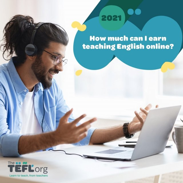 It's a question many are asking at the moment: just how much can I earn teaching English online? And is it realistic to make a living as an online English teacher in 2021?⁠ ⁠ While some people teach online as a side hustle to supplement their income, the opportunities are there to make a full-time living if you have the ambition. Those willing to put in the work stand to reap the rewards in this industry that has been rapidly growing for many years. ⁠ ⁠ Whether you're looking to make a bit more cash or you're serious about a career as an online English teacher, the information in this blog post will help give you an idea of how much you could be earning!⁠ ⁠ Read full blog post - Link in bio 🔗