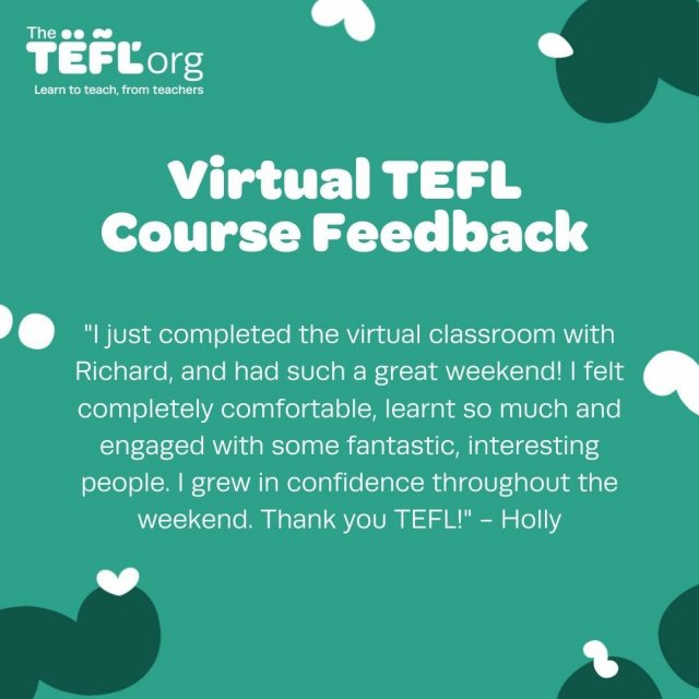 Unable to attend one of our popular weekend classroom courses due to either location or timing?⁠ ⁠ Don't worry! Our Virtual Classroom Course is a fantastic alternative. ⁠ ⁠ Holly shares her experience 👩🏼‍🏫⁠ ⁠ Find out more - Link in bio 🔗