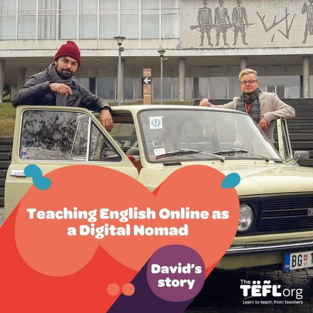 """""""Getting a TEFL certificate and teaching with italki has given me the opportunity to be my own boss. I have a flexibility and work/life balance I never dreamt possible. Travelling full-time as a Digital Nomad is a decision I do not regret.""""  Would you like to become a digital nomad? Read David's TEFL story to find out more - Link in bio 🔗 """