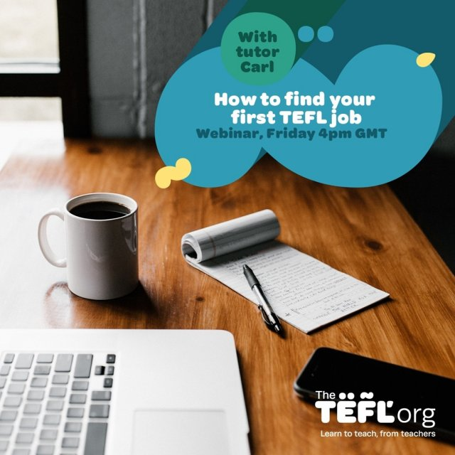 📆 Join us Friday 19th February at 4pm UK time when TEFL Org tutor Carl will be talking us through how to find your first TEFL job!  Don't forget to click '🔔 Set Reminder' to be notified when we go live - Link in bio 🔗  If you have any questions you'd like Carl to answer, drop them in the comments section and we'll make sure to answer them during the livestream. 