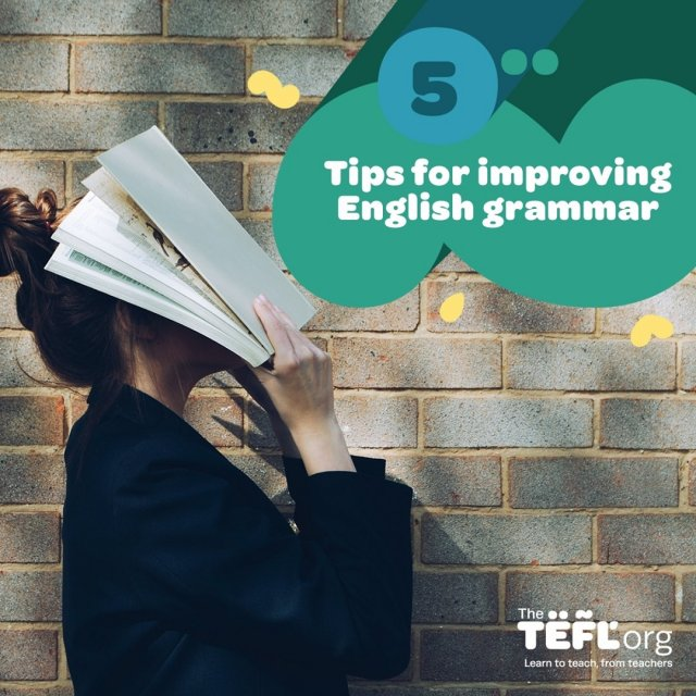 Can you confidently explain infinitives? Do you know what passive voice is? And do you know your present perfect continuous from present perfect simple?⁠ ⁠ English grammar can be intimidating for native and non-native English speakers alike. Whether you're learning English or aiming to teach it as a foreign language, getting to grips with grammar is essential.⁠ ⁠ If you aren't feeling too confident about your grasp of English grammar then here are five tips to help you on your way to becoming a grammar pro:⁠ ⁠ 1️⃣Take a grammar course⁠ 2️⃣Get comfortable with the basics⁠ 3️⃣Set aside time to revise⁠ 4️⃣Read, read, read!⁠ 5️⃣Invest in a good grammar book⁠ ⁠ Find out more - Link in bio 🔗