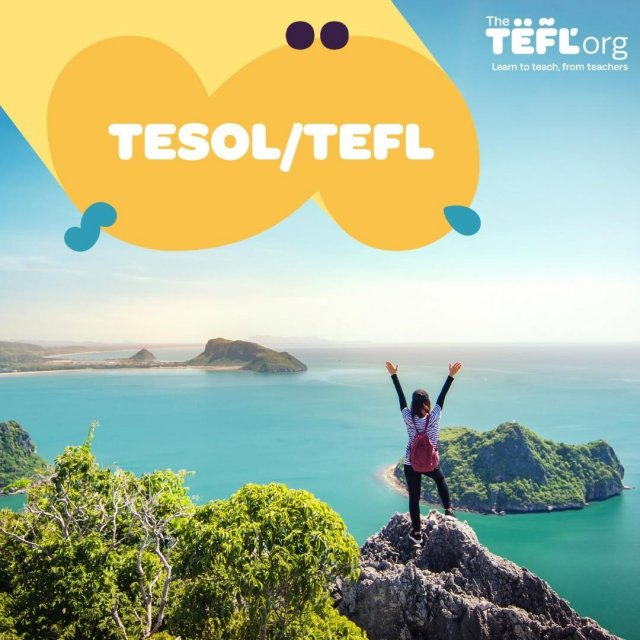 TEFL (Teaching English as a Foreign Language) and TESOL are terms that are usually used interchangeably. The only slight difference is that TESOL encompasses teaching English language learners who are residing in English-speaking countries.⁠ ⁠ What can you do with TESOL? ⁠ ⁠ Qualified TESOL teachers can find teaching opportunities across the globe. You can work with children & adults, with beginners and advanced speakers, in language schools & universities, online & in classrooms.⁠ ⁠ ⁠Find out more - Link in bio 🔗