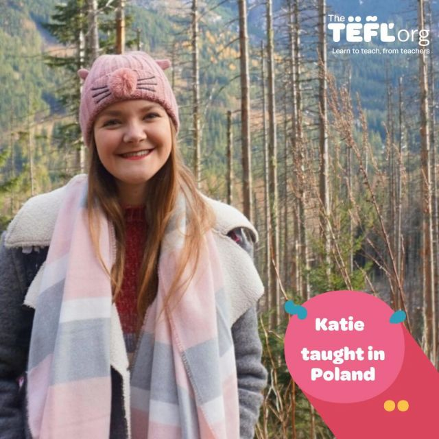 "Would you like to teach English in Poland like The TEFL Org Graduate Katie? 👇🇵🇱⁠ ⁠ ""Teaching English has given me so much confidence, not only living independently in a different culture to my own but talking with different people and making new friends. It's made me more aware of just how much I'm capable of and for that, I'll always be grateful. ⁠ ⁠ ""There is truly no other job that allows you to realise your limitations, recognise your strengths and genuinely make you a much more rounded and knowledgeable person.""⁠ ⁠ Head on over to the link in our bio to read Katie's full TEFL story 🔗⁠ ⁠"