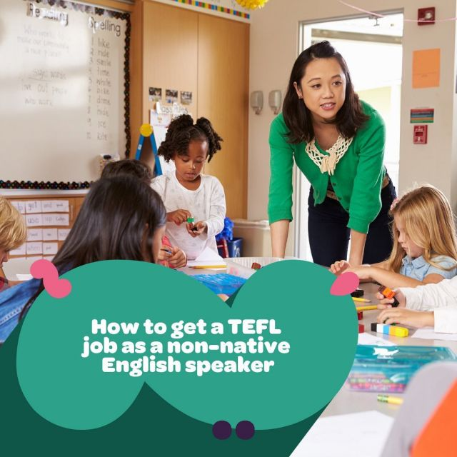 How to get a TEFL job as a non-native English speaker 👇⁠⁠ ⁠⁠ You need to make sure your application really sells you, so have confidence in your abilities. And be prepared for rejection – as a non-native speaker you're probably going to have to work harder to secure a job, but don't let this get you down too much. Perseverance is key! 🔑⁠⁠ ⁠⁠ 4 steps to get a TEFL job as a non-native English speaker: ⁠⁠ ⁠⁠ 1️⃣ Sell your non-native status as an advantage⁠⁠ 2️⃣ Sit a proficiency exam⁠⁠ 3️⃣ Get experience⁠⁠ 4️⃣ Get TEFL qualified⁠⁠ ⁠⁠ Head to the link in our bio to read our blog post 🔗⁠⁠ ⁠⁠
